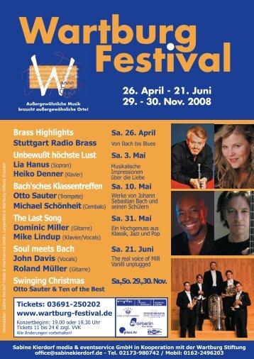 Wartburg_Festival Kopie 2.indd - Wartburg Festival