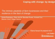 Coping with change: by design