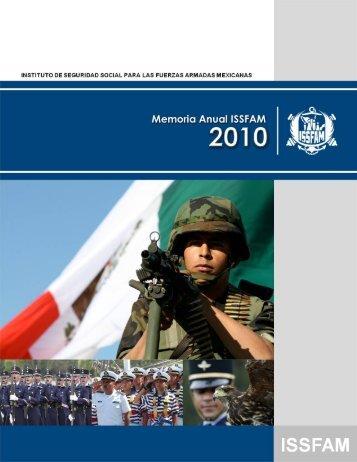 Memoria Anual 2010 - Issfam
