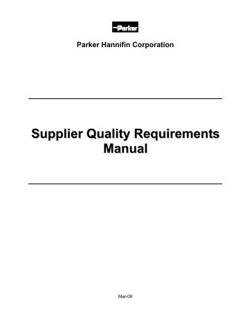 Juran 39 s quality handbook 5th ed ripped by sabbanji for Supplier quality manual template