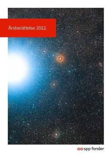 Årsberättelse 2012. - SPP