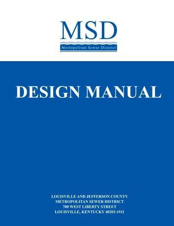 DESIGN MANUAL - MSD