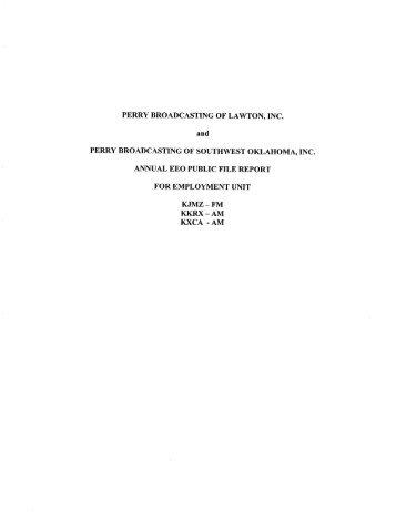 February 1, 2008 - January 31, 2009 - Perry Publishing ...