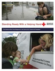 Central U.S. Floods Stewardship Report - American Red Cross