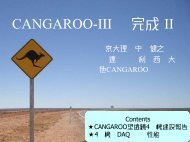 CANGAROO-III の完成 II
