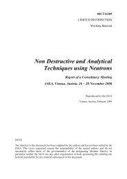 IAEA Report DOC - Nuclear Sciences and Applications - IAEA