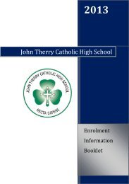 John Therry Catholic High School - The Australian Schools Directory