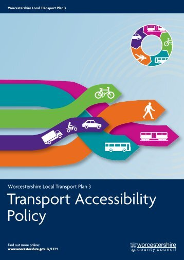 Transport Accessibility Policy - Worcestershire County Council