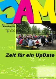 Zeit für ein UpDate - Landesverband Oberösterreich