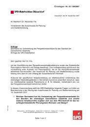 Ö Vorlagen - Nr. 61/ 109/2007 Seite 1 von 2 An ... - SPD Düsseldorf