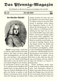 Das Pfennig-Magazin – No. 12 (Ausgabe vom 20. Juli 1833) - Igelity