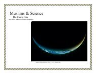 Muslims & Science - The Islamic Bulletin