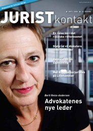 Juristkontakt 7 - 2008