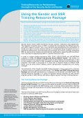 Training Resources on Parliamentary Oversight of ... - ISSAT - DCAF - Page 4