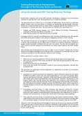Training Resources on Parliamentary Oversight of ... - ISSAT - DCAF - Page 6