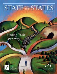SCI State of the States 2006.pdf - State Coverage Initiatives