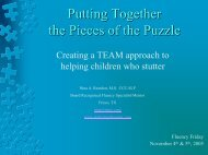 Putting Together the Pieces of the Puzzle - Fluency Friday Plus