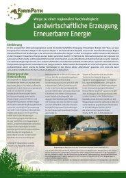 Erneuerbare Energien - FarmPath