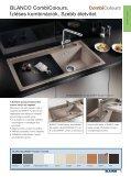 Mosogatók, csaptelepek, hulladékosztályozók - Falco Depo Udvar - Page 5