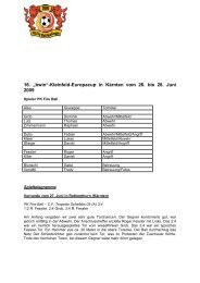 Europacup_2009 - PK Fireball