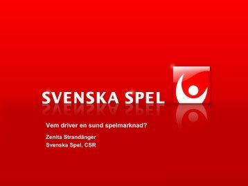 Zenita Strandänger - Lotteriinspektionen