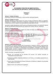 XI CONVENIO COLECTIVO DE AMBITO ESTATAL DE ... - FETE-UGT