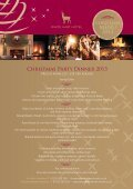 New 2013 Christmas Menu - White Hart Hotel - Page 2
