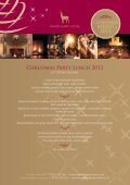 New 2013 Christmas Menu - White Hart Hotel - Page 3
