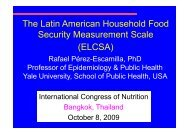 The Latin American Household Food Security Measurement Scale ...