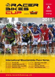 International Mountainbike Race Series - Bikeclub Sense Oberland