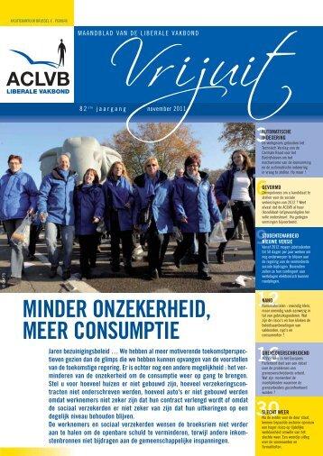 Vrijuit - editie november 2011 - Aclvb