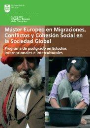 Folleto informativo del máster - HumanitarianNet - Universidad de ...