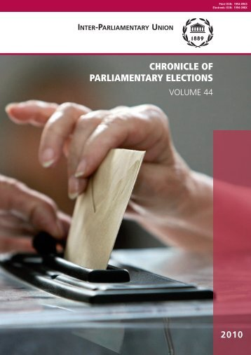 Chronicle of - Inter-Parliamentary Union