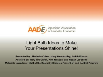 Light Bulb Ideas to Make Your Presentations Shine!