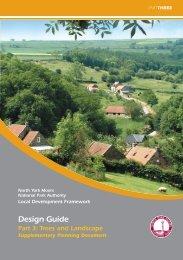 Design Guide Part 3 - North York Moors National Park