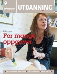 Utdanning nummer 09 2011 - Utdanningsnytt.no