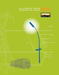 2009 California Green Innovation Index - Next Ten