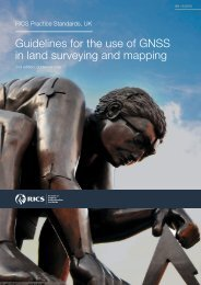 Guidelines for the use of GNSS in surveying and mapping