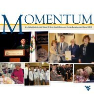 SCHOLARSHIPS AWARDED as of August 2010 - West Virginia ...
