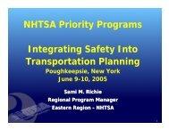 Integrating Safety into Transportation Planning – Richie