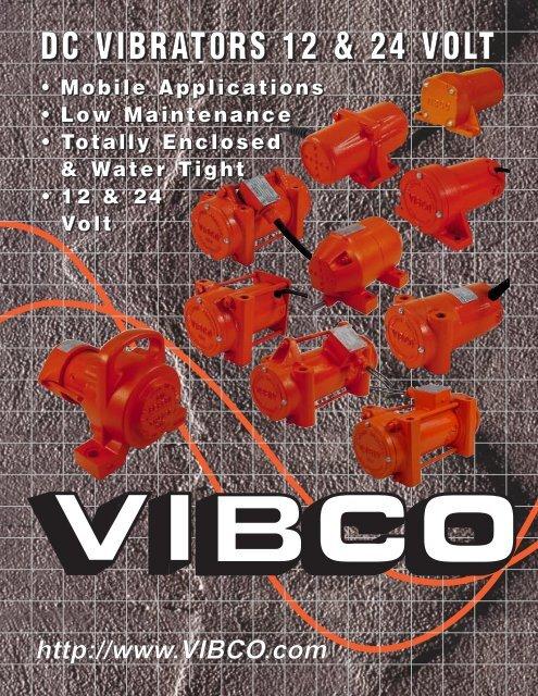 12 volt DC Vibrators