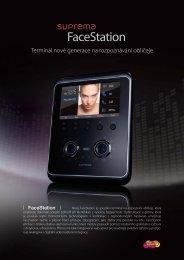 Terminál nové generace na rozpoznávání obličeje - MICRONIX ...