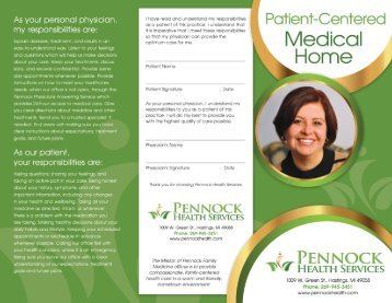 Download Our Patient-Centered Medical Home Brochure