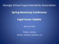 Georgia School Boards Association Large Member Group - Ciclt.net