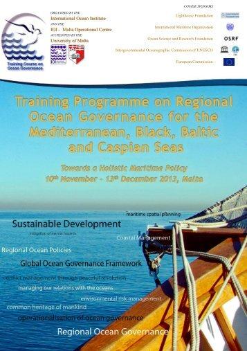 Download Course Flier - International Ocean Institute