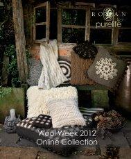 Wool Week 2012 Online Collection - Rowan