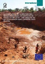 Pour lire le rapport - Ipis