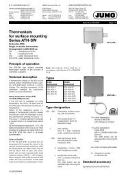Thermostats for surface mounting Series ATH-SW - doc-station.ru