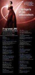 Programme JIMH