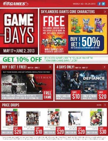 ' FREE - EB Games